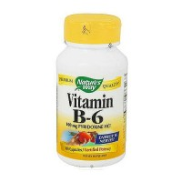 Natures Way Vitamin B6 100 mg Pyridoxine HCI - 100 Capsules