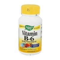 Natures Way Vitamin B6 100 mg Pyridoxine HCI - 100 Capsules