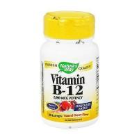 Natures way vitamin B-12 2000 mcg potency lozenges, natural cherry - 100 ea