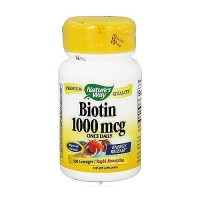Natures Way Biotin 1000 mcg Energy Release Rapid Absorption Lozenges - 100 Ea