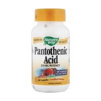 Natures Way Pantothenic Acid 250 mg Potency Capsules - 100 ea
