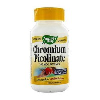 Natures Way Chromium Picolinate 200mcg Capsules - 100 Ea