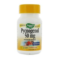 Natures Way Pycnogenol Pine Bark Extract 50 mg Tablets - 30 ea