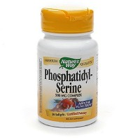 Natures Way Phosphatidyl-Serine 500mg Softgels For Mental Function - 30 ea