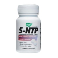 Natures Way 5-Htp 50 Mg Tablets Promotes Healthy Sleep - 30 Ea