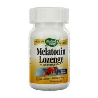 Natures Way Melatonin Fruit Flavor 2.5 mg Potency Lozenges - 100 ea