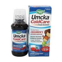 Natures Way Umcka ColdCare Childrens Soothing Syrup, Cherry - 4 oz