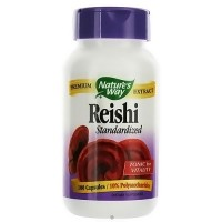Natures Way Reishi Standardized Tonic for Vitality Capsules - 100 ea
