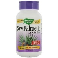 Natures Way Saw Palmetto Standardized Extract Softgels, 160 mg - 60 ea