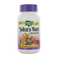 Natures Way St Johns Wort Standardized Capsules For Positive Mood - 90 ea