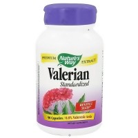 Natures Way Standardized Valerian Extract Capsules For Restful Sleep - 90 ea