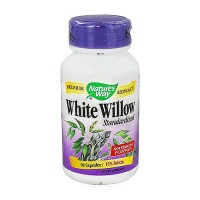 Natures Way White Willow Standardized Extract Capsules, Maximum Potency - 60 ea