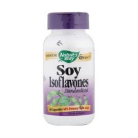 Natures Way Soy Isoflavones Standardized Extract Capsules - 60 Ea