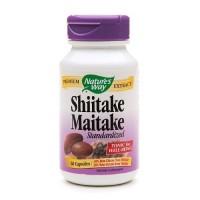Naturesway shiitake maitake standardized capsules - 60 ea