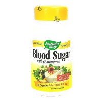 Natures Way blood sugar capsules with Gymnema, Plus GFT chromium - 90 ea
