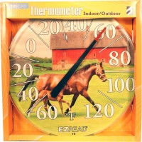 Headwind Consumer ezread dial thermometer two horses - 12.5 inch, 6 ea