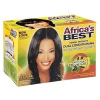 Africa's best super no-lye dual conditioning relaxer system - 3 ea
