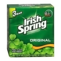Irish spring deodorant bath bar, Original - 3 ea