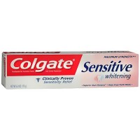 Colgate Sensitive Maximum Strength whitening toothpaste - 6 oz