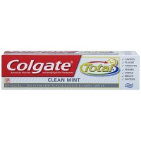 Colgate total toothpaste, clean mint paste - 3 ea
