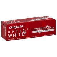 Colgate optic white toothpaste sparkling mint - 3.5 oz