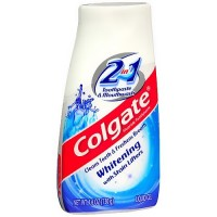 Colgate 2-In-1 Toothpaste And Mouthwash, Whitening - 4.6 Oz
