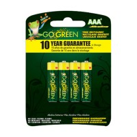 Gogreen Power, Inc. alkaline battery - aaa/4 pack, 120 ea