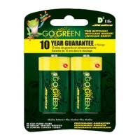 Gogreen Power, Inc. alkaline battery - d/2 pack, 48 ea