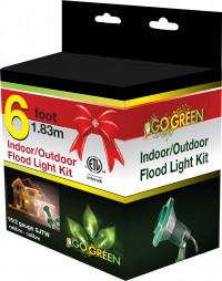 Gogreen Power, Inc. indoor/outdoor floodlight holder kit - 24 ea