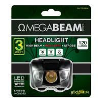 Gogreen Power, Inc. omegabeam led headlight - 120 lumens, 24 ea