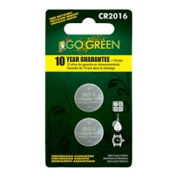 Gogreen Power, Inc. lithium battery for electronics and watches - cr2016/2 pack, 200 ea