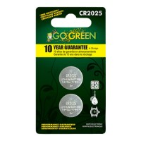 Gogreen Power, Inc. lithium battery for electronics and watches - cr2025/2 pack, 200 ea