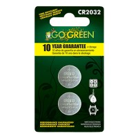 Gogreen Power, Inc. lithium battery for electronics and watches - cr2032/2 pack, 200 ea