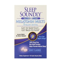 Country farm sleep soundly melatonin melts - 60 ea