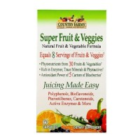 Country farms super fruit and veggies -  60 ea