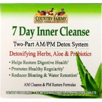 Country farms 7 day inner cleanse tablets - 84 ea