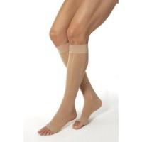 Jobst ultrasheer compression support knee high 20-30mmhg petite open toe, medium, natural - 1 ea