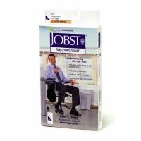 Jobst men's dress knee high 8-15 closed toe socks, khaki, x large - 1 ea