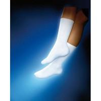 Sensifoot 8 15 crew diabetic socks medium white - 1 ea