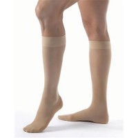 Jobst Women's Ultrasheer Knee High Compression Stockings Beige  - 1 ea