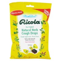 Ricola natural herb cough drops, original - 50 drops, 12 pack