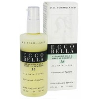 Ecco Bella cleansing milk and make up remover with Azulene - 4 oz