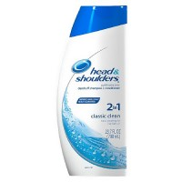Head and Shoulders dandruff shampoo plus conditioner (2 in 1), clasic clean - 23.7 oz