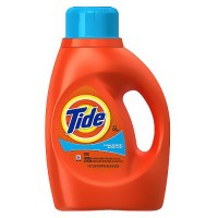 Tide liquid detergent with acti lift, clean breeze, 32 loads, 50 oz, 6 pack