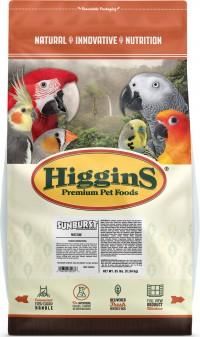 Higgins Premium Pet Foods sunburst gourmet blend for macaw - 25lb, 1 ea
