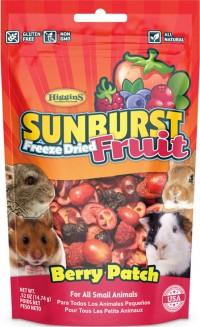 Higgins Premium Pet Foods sunburst freeze dried fruit berry patch - .52 oz, 8 ea