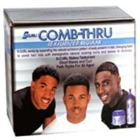 Lusters S-Curl Comb Thru Texturizer Regular Hair KIT - 4 Oz