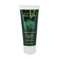 Real Aloe Organically Grown, Aloe Vera Gelly Unscented - 6.8 oz