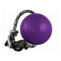 Jolly Pets romp-n-roll ball dog toy - 6 in, 12 ea