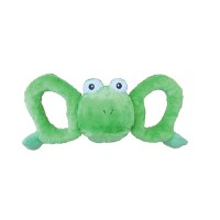 Jolly Pets tug-a-mals frog - medium, 12 ea